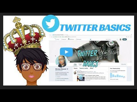 Twitter Basics Tutorial- how to tweet, pin, retweet, reply, hashtags