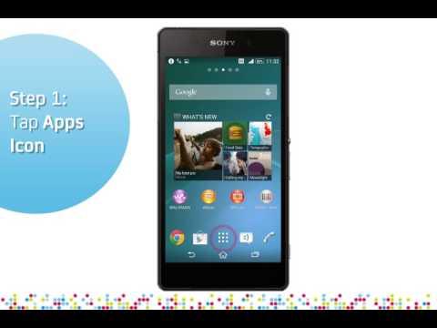 Sony Xperia Z2: Turn off / on data roaming