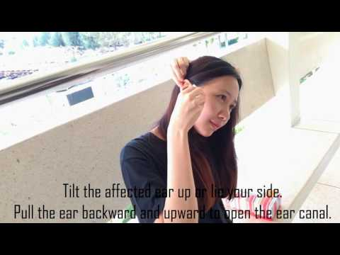 How to use ear drops