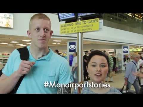 #ManairportStories - Leanne and Adam flying to Cuba