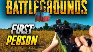 Battlegrounds: NEW FIRST PERSON SERVERS COMING! (Playerunknown