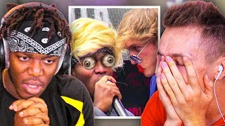 REACTING TO THE WEIRDEST VIDEOS WITH KSI (CLEAN)