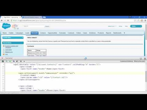 Ajax with query string parameter