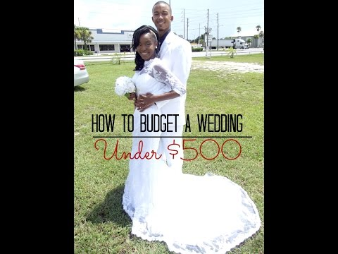 How to Budget A Wedding!! (Special Guest ???)