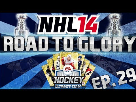 NHL 14 HUT | Road To Glory 29 - Pack Opening (Will Our Luck Change?) | TacTixHD
