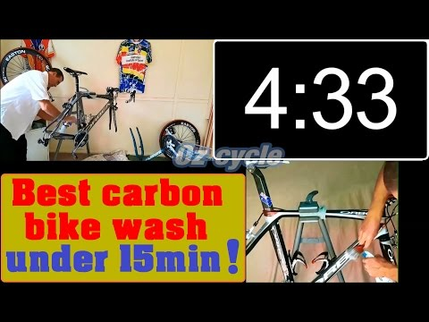Best Carbon bike wash - less than 15mins !