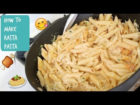HOW TO MAKE RASTA PASTA | COOKING SHOW