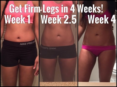 How to Toned Legs In 7 minutes - A QUICK 4 Week