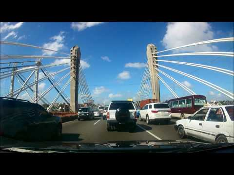 Driving from Punta Cana to Santo Domingo