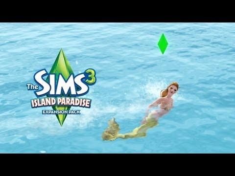 [ How to ] The Sims 3 Mermaid วิธีเป็นนางเงือก