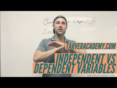 Independent vs Dependent Variables CAGE MATCH!!! // TARVER ACADEMY MATH