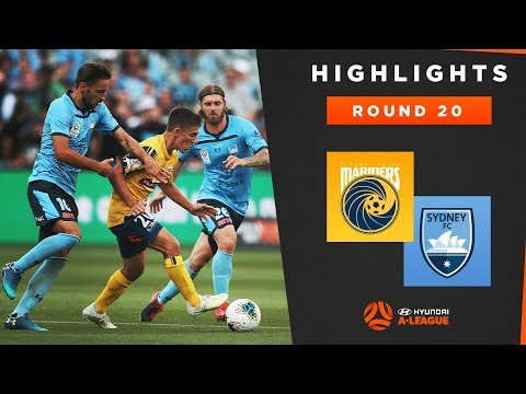 Highlights: Central Coast Mariners v Sydney FC – Round 20 Hyundai A-League 2019/20 Season