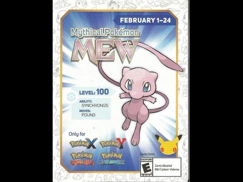 How to get Mew Event!