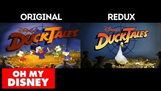 DuckTales with Real Ducks: Side by Side Comparison
