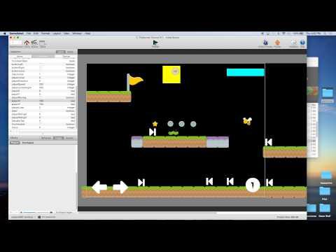 Platformer Tutorial for GameSalad Creator 011 - Check Points