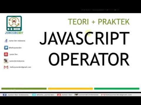 Mengenal Operator Aritmatika - Assignment - Logika Pembanding | Tutorial Javascript (part 3)