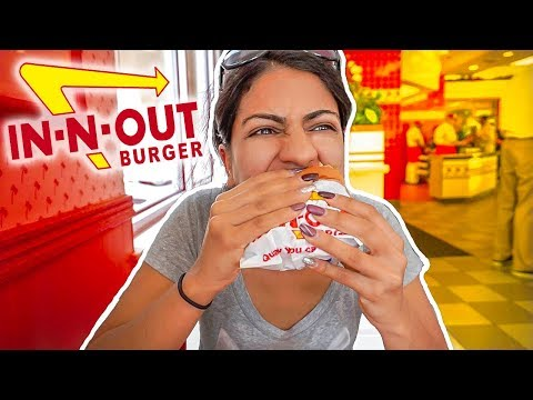 Trying In-N-Out For The First Time!