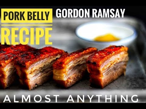 How to Cook Pork Belly, Making Chicken stock Recipe By Gordon Ramsay - Almost Anything
