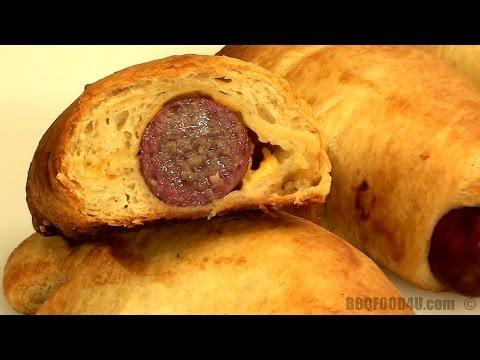 Sausage In A Blanket Recipe - BBQFOOD4U