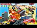 DRAG RACING PLAYSET DISNEY CARS Carros de Carrera para niños - Pista de Coches