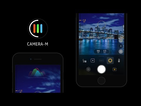 Camera-M : Professional Manual Camera App for iOS