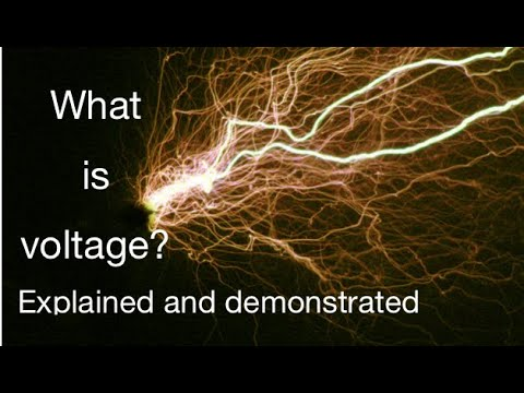 Potential difference / voltage explained: from fizzics.org