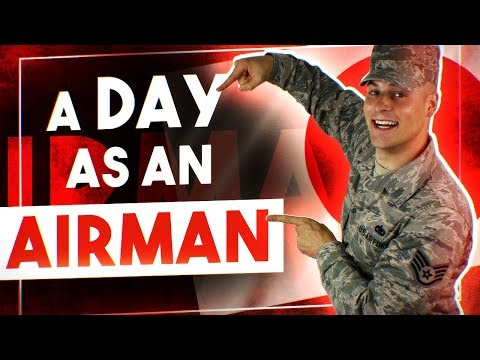 Day in the Life Air Force | Air Force Enlisted Life | Being Stationed in Japan