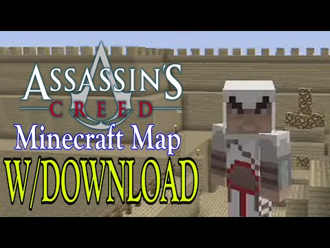 Minecraft Xbox 360: Assassins Creed map w/ Download! [Adventure]