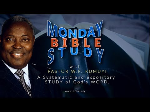 Bible Study (June 04, 2018) - Faithfulness of Christ's Witnesses in a Hateful World