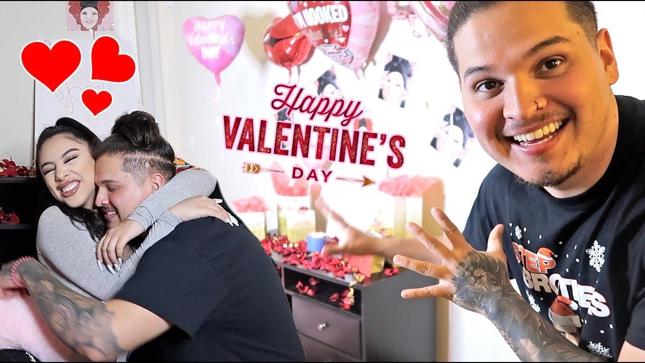 SUPRISING my CRUSH on Valentine's Day! *Emotional*