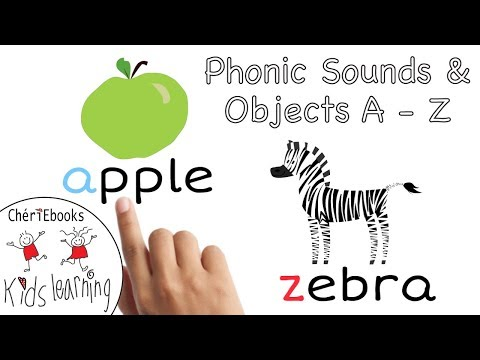 Phonetic Alphabet for Kids | Teach Letter Sounds With Objects  | Learn A - Z | Phonic