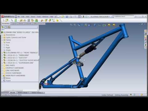 SolidWorks Suspension Frame 1