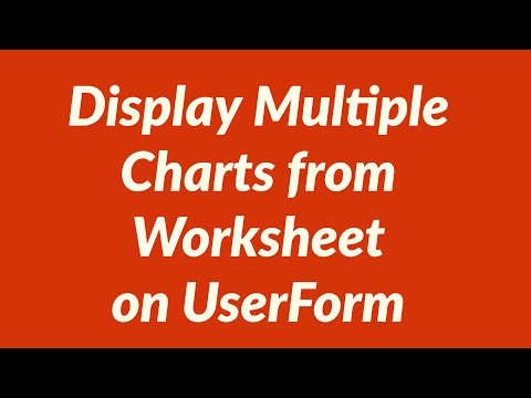 How to Display Multiple Charts from Excel Worksheet on UserForm