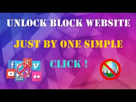 Unlock Block Website Just By One Click || Block Website Ko Unlock Karna Shikiya || Hindi