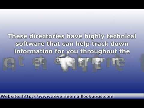 Reverse Email Lookup - Use a Reverse Email Finder by a Search to Track Email Address Owner