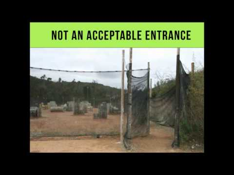 Paintball Safety - Fields: Part 2 - Netting & Field Layout