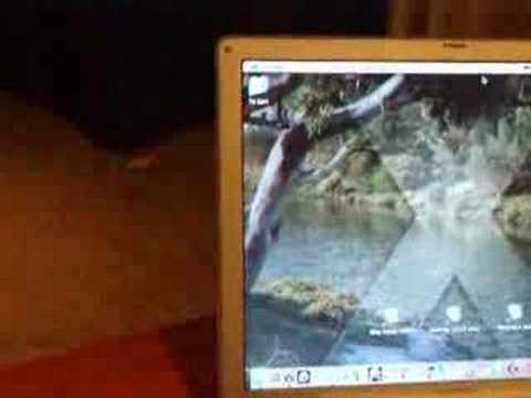 Video Desktop Background on Mac OS X Video 2