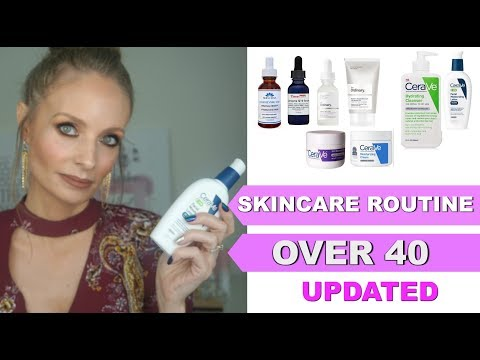ANTI-AGING SKINCARE ROUTINE | SKINCARE OVER 40 | AFFORDABLE SKINCARE ROUTINE