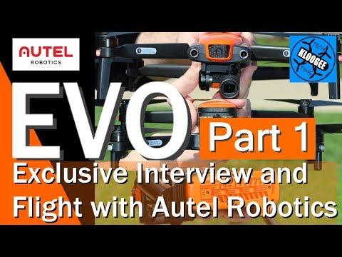 AUTEL EVO - Interview, Full Specs, and Flight (Part 1)