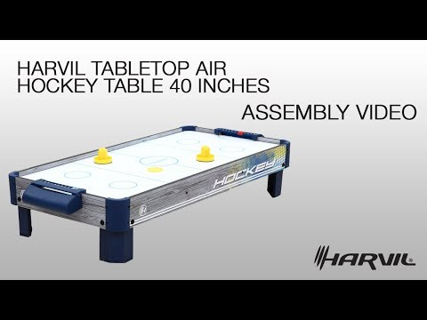Assembly Video | Harvil Tabletop Air Hockey Table 40 Inches (85950) | Dazadi.com