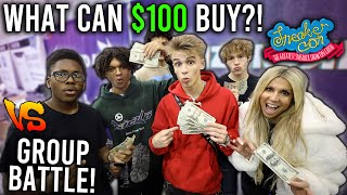 What Can $100 Get at SNEAKERCON?! (Group Edition)