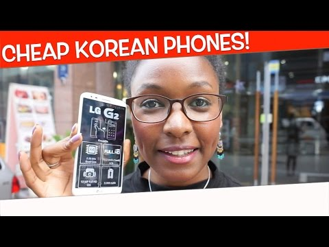How To Get A Super Cheap Cellphone in Korea!