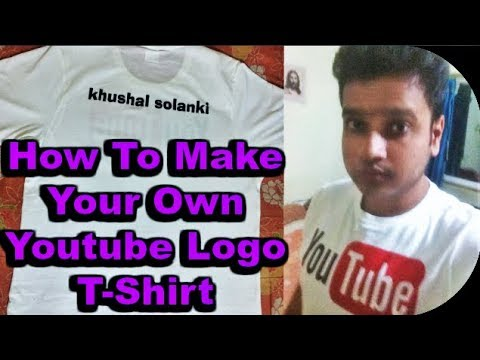 How To Get Your Youtube Channel Name T-Shirt Your On Creation - (2017)