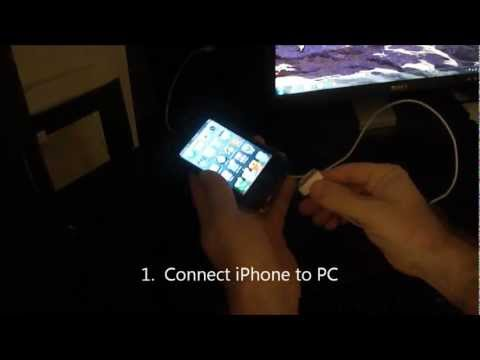 Tech Tip #19 iPhone - How to get movies off iPhone