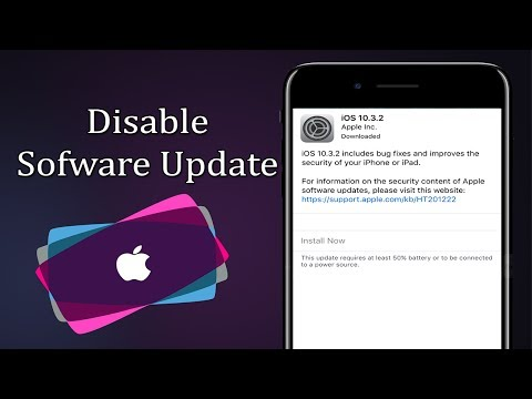How to Block Software Update on iPhone | iOS 11/10 - Links in Description