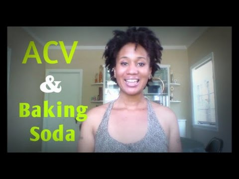 Baking Soda Wash & Apple Cider Vinegar Rinse