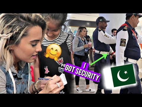 LAST DAYS IN PAKISTAN... I got security guards!