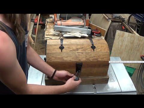 Pirates treasure chest with secret compartment