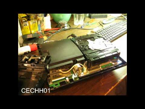 CECHH01 40GB PS3 Blu Ray Drive Won't Accept / Eject Discs HELP!