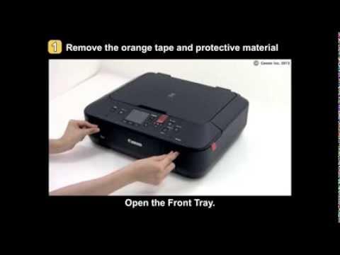 PIXMA MG5520/MG5522/MG6420: Setting up the printer